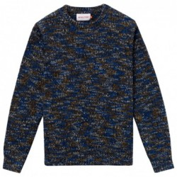Rvlt Structured Knit-Navy
