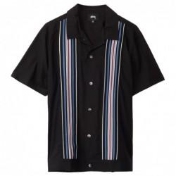 Stüssy Striped Knit Panel Shirt
