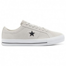 Converse Perforated Suede One Star Pro Low Top-Pale