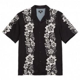Stüssy Hawaiian Pattern Shirt-Blk