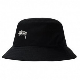 Stüssy Stock Bucket Hat-Blk