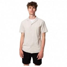Rvlt Short Sleeved Cuban Shirt-Off
