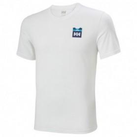 Helly Hansen Nord Graphic Hh T-Shirt-Wht