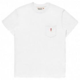 Rvlt Loose Fit Pocket T-Shirt-Wht