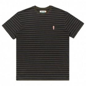 Rvlt Striped T-Shirt-Armymel
