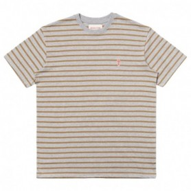 Rvlt Striped T-Shirt-Greymel