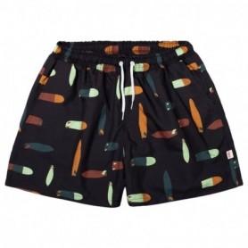 Rvlt Swim Shorts-Navy