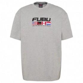Fubu Fubu Corporate T-Shirt-Grey