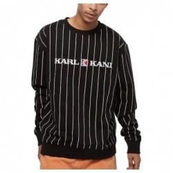 Karl Kani Retro Pinstripe Crew